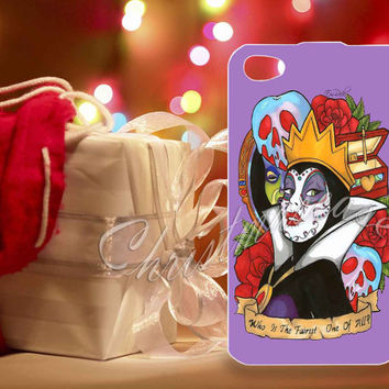 Evil Queen Snow White Disney Day Of The Dead - for iPhone 4/4s, iPhone 5/5s/5c, Samsung S3 i9300, Samsung S4 i9500 Hard Plastic Case