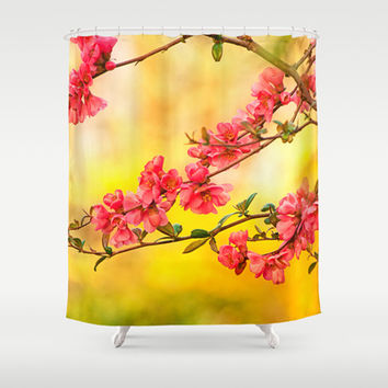 Spring is beautiful Shower Curtain by Pirmin Nohr