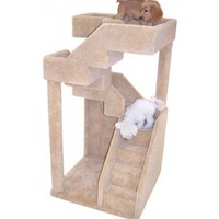 Themed Cat Furniture : Doggy (and Cat!) Staircase Tower