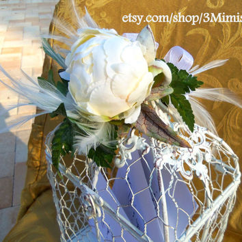 Birdcage Wedding Card Holder Shabby Chic Wedding Accessory