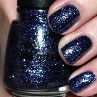 China Glaze Nail Polish Lacquer Glitters Collection Metro Skyscraper # 81065 14ml 0.5oz