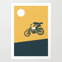 jump Art Print by The Junkers