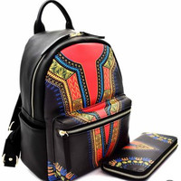 Dashiki Backpack Set (More Colors)