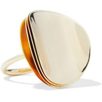 Gold-tone ring | ELIZABETH AND JAMES | Sale up to 70% off | THE OUTNET