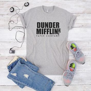 Dunder Mifflin, Paper Company Inc. The Office T-Shirt