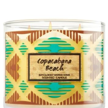 3-Wick Candle Copacabana Beach