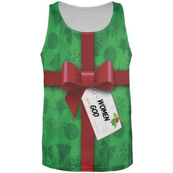 DCCKU3R Christmas Gift To Women From God All Over Mens Tank Top