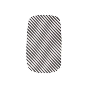 cool black stripes minx® nail wraps