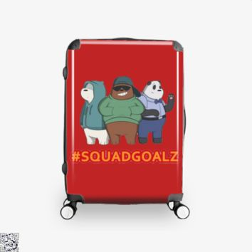Squad Goals, We Bare Bears Suitcase