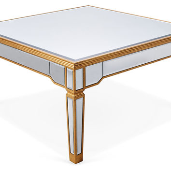 Rowan Coffee Table, Gold, Outdoor Coffee & Cocktail Tables