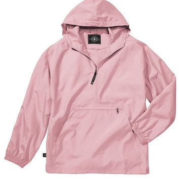 Youth Monogrammed Wind or Rain Jacket - Monogrammed Charles River Rain Jacket   SINGLE MONOGRAM