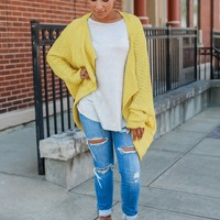 Trendsetter Cardigan - Sunflower