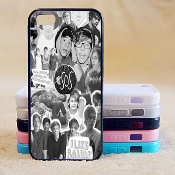 5SOS, Custom Case, iPhone 4/4s/5/5s/5C, Samsung Galaxy S2/S3/S4/S5/Note 2/3, Htc One S/M7/M8, Moto G/X