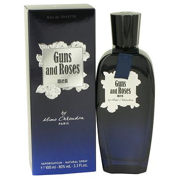 Guns And Roses Cologne By Mimo Chkoudra Eau De Toilette Spray FOR MEN