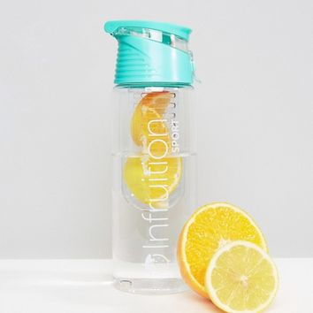Infruition Infuser Water Bottle in Mint at asos.com