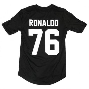 Ronaldo 76 Legends Shirt Black - BALR.
