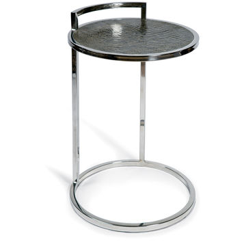 Chrome Hover Side Table