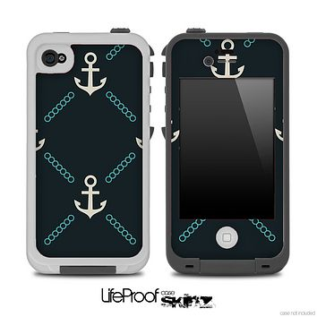 Vintage Anchor V4 Skin for the iPhone 5 or 4/4s LifeProof Case