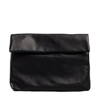 IDA LEATHER CLUTCH