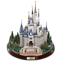 Disney Cinderella Castle Miniature by Olszewski | Disney Store