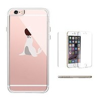 365Printing 360° Full Protection Cute Seal Playing with Apple Funny Phone Case