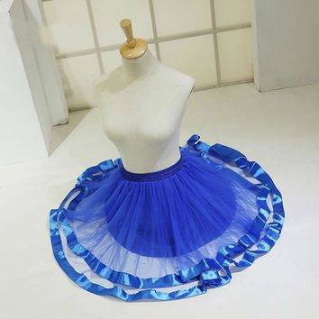 Short Petticoat Skirt Half Slips for Women Formal Dress