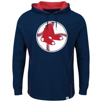 Boston Red Sox Majestic Cooperstown  Pullover Hoodie - Navy