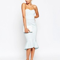 ASOS | ASOS Pephem Bandeau Midi Dress at ASOS