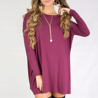 PIKO Kensington Maroon Dress