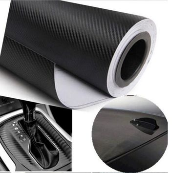 Dewtreetali 30cmx127cm 3D Carbon Fiber Vinyl Car Wrap Sheet Roll Film Car stickers and Decals Motorcycle Accessories Automobiles
