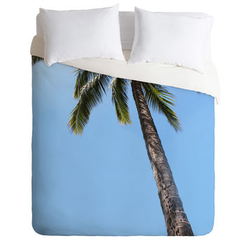 Deb Haugen simply a palm Duvet Cover