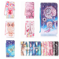 Newest Flip Leather Case for Samsung Galaxy S4 S5 S6 S7 Edge J3 J5 A3 A5 2016/iPhone 7 6s Plus SE/For Huawei P9 Lite Phone Cases