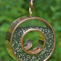 Bird Feeder - Venetian Bronze Finish