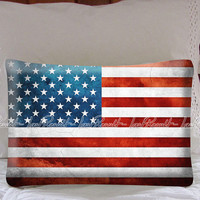 Grunge American Vintage Pillow Case Cover Collectors Gift