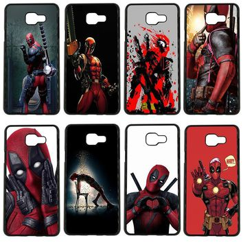 Deadpool Dead pool Taco Cute  Hero Art Cell Phone Cases PC Hard Plastic Cover for Samsung Galaxy S8 S9 Plus S3 S4 S5 Mini S7 S6 Edge Plus Case AT_70_6