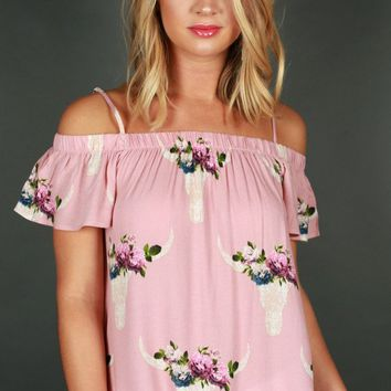 Date Night In Dallas Off Shoulder Top