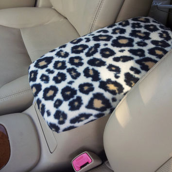 Center Console Cover CHEETAH PRINT for Toyota Prius 2004 to 2011 (Sample Picture CC2) Lid Cover