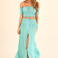 MERMAID DREAMS 2 PIECE SET - AQUA