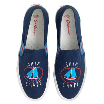 Whitby Waters Ship Shape Slip On Trainer | Accessories View All | CathKidston