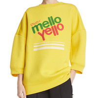 Marc Jacobs Mello Yello™ Crewneck Pullover Sweatshirt and Matching Items