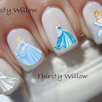 Disney Cinderella Nail Decals
