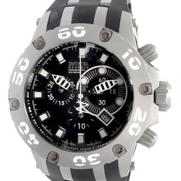 Invicta 0920 Men's Reserve Specialty Chronograph Black Dial Swiss Watch