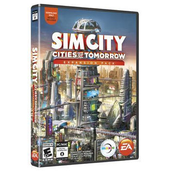 SimCity: Cities of Tomorrow Expansion Pack PC Video Game