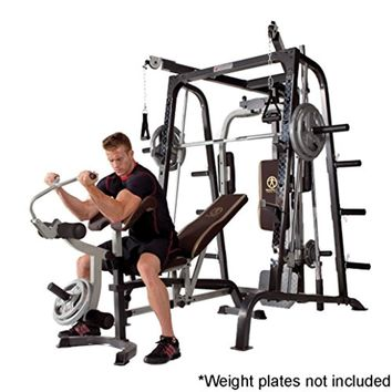 Cage Workout Machine Total Body Training Home Gym System with Linear Bearing