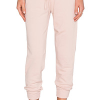 French Terry Shrunken Sweatpant in Putty