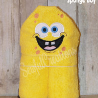 Sponge Boy Hooded Towel