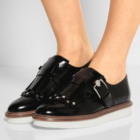 Tod's - Glossed-leather brogues