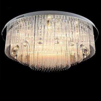high quality crystal chandelier LED light for bedroom modern ceiling chandeliers