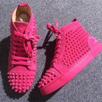 DCCK Cl Christian Louboutin Style #2290 Sneakers Fashion Shoes