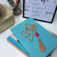 You're So Classic Tassel Necklace